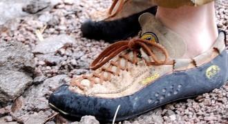 Pielęgnacja butów wspinaczkowych