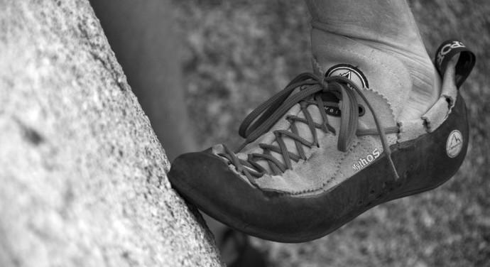Pierwsze buty wspinaczkowe