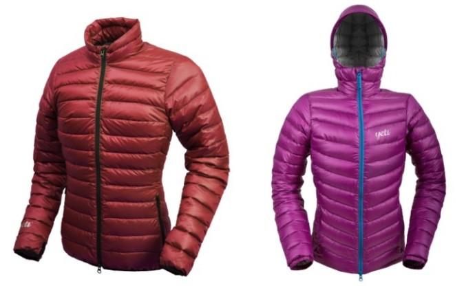 Sweter i kurtka puchowa różnice