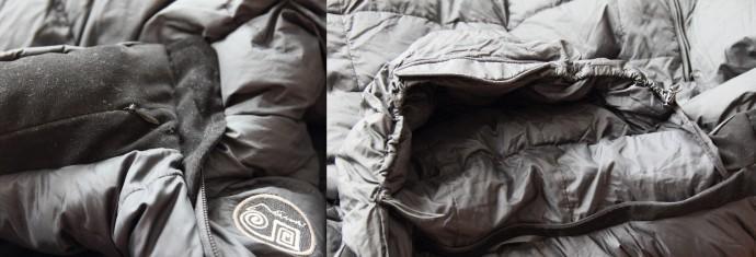 Kaptur w kurtce puchowej