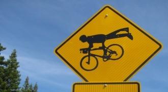 Najczęstsze błędy rowerzystów