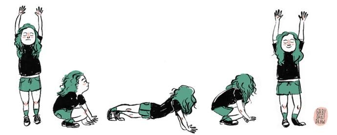 burpee ćwiczenie fitness