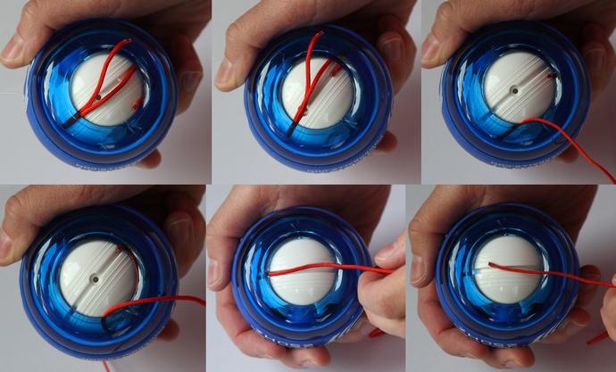 powerball jak wydostać sznurek