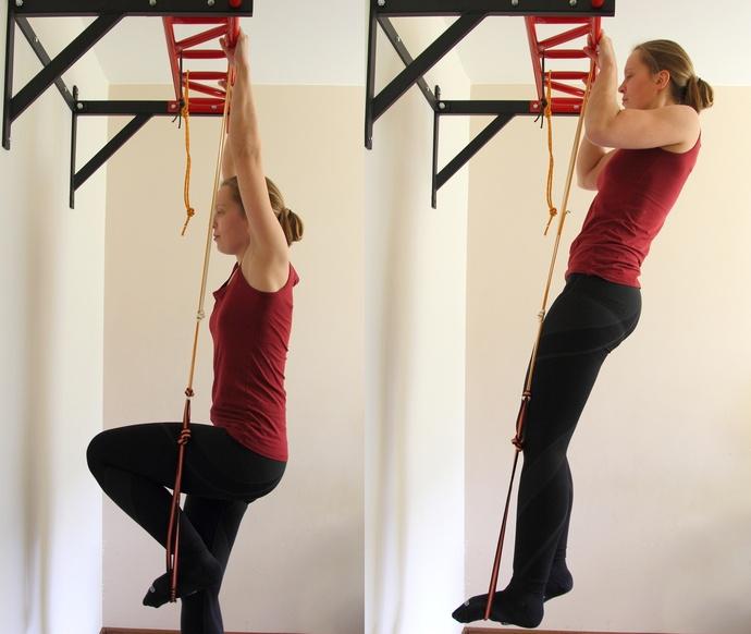 Ćwiczenia na drążku