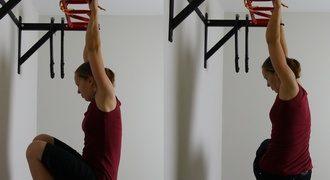 ćwiczenia na brzuch na drążku