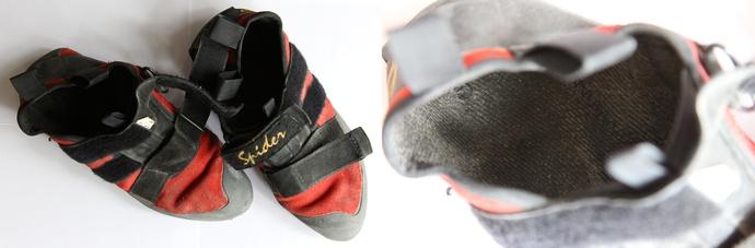 buty wspinaczkowe do prania