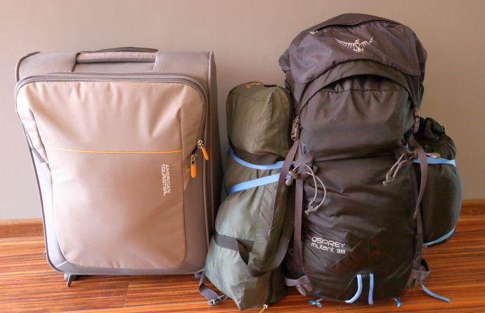 Pakowanie walizki do samolotu