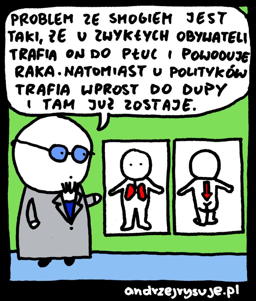 Smog Andrzej Rysuje