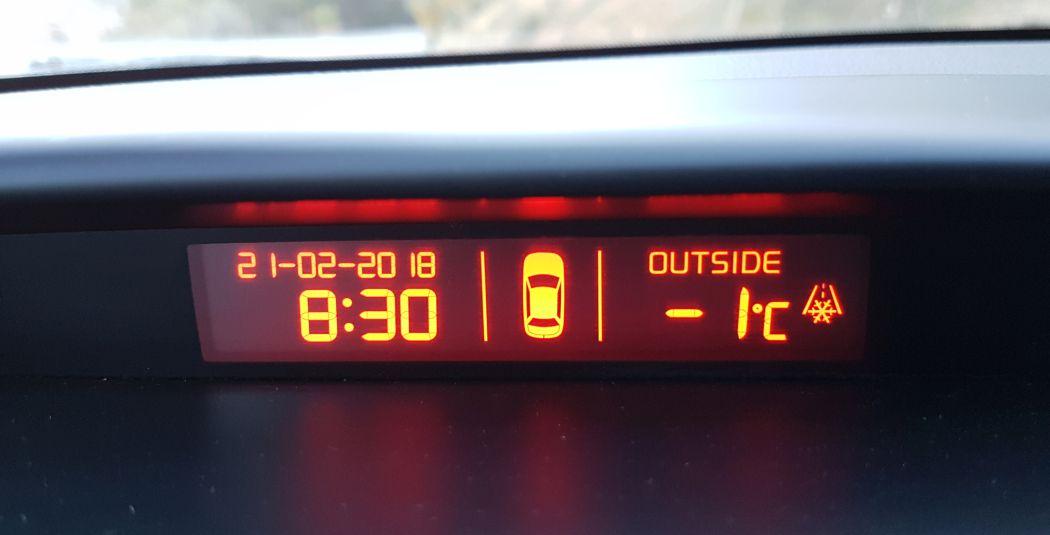 Temperatura w El Chorro