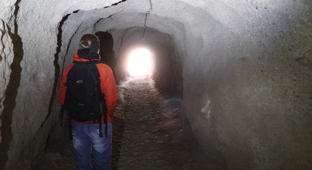 Tunel przy wejściu na Caminito del Rey
