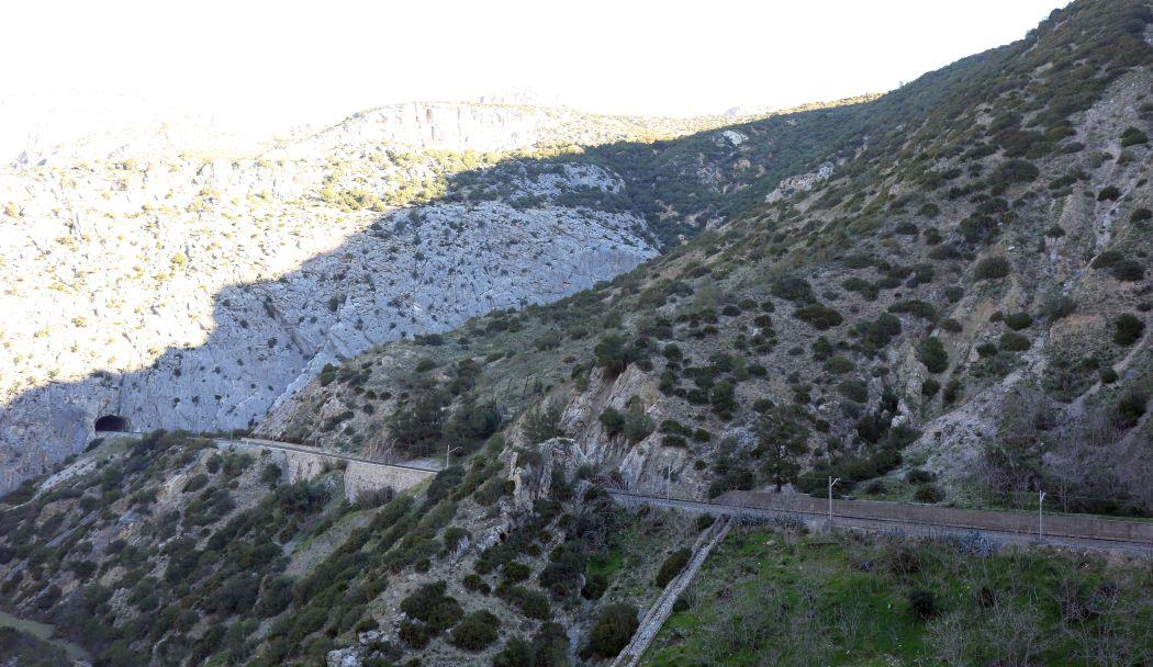 Tunel kolejowy - Caminito del Rey