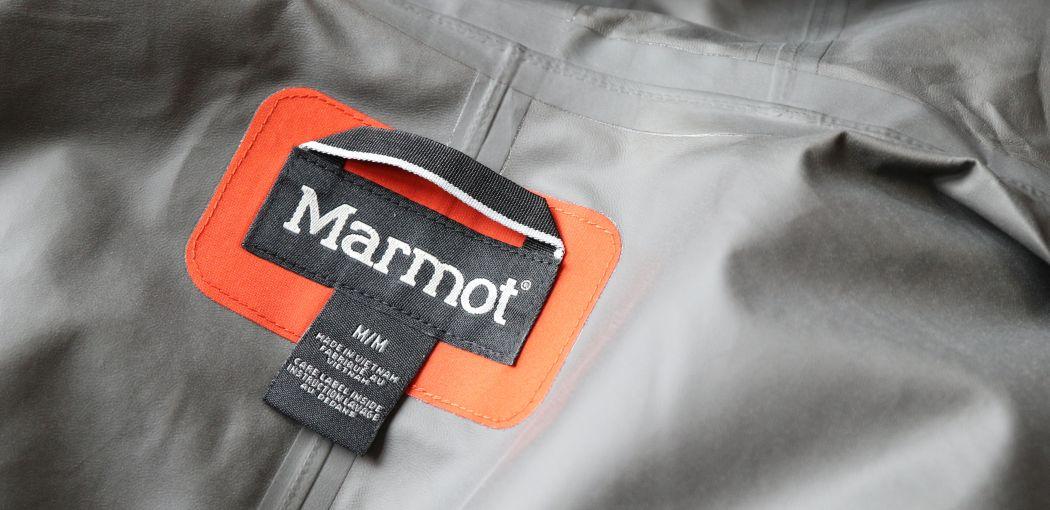 Marmot - podklejany szwy