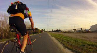 Ból tyłka na rowerze