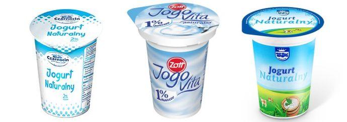 Jogurty naturalne z dobrym składem
