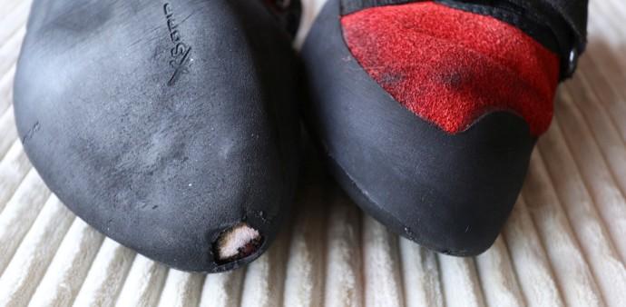 Buty wspinaczkowe do naprawy