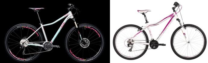 Damskie rowery górskie