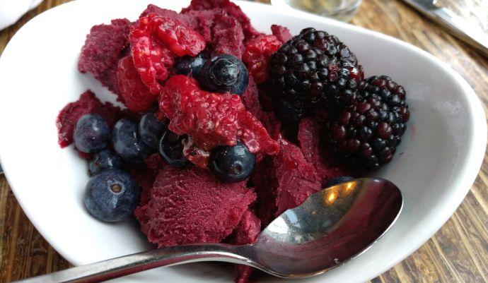Sorbet z owocami