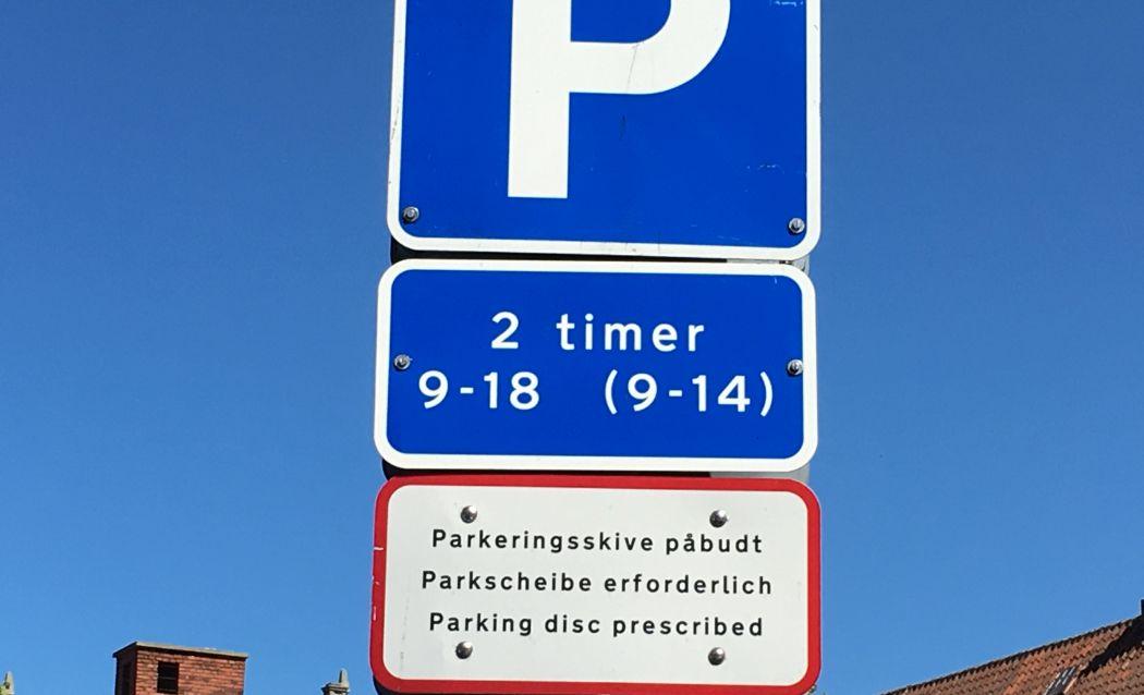 Parkowanie na Bornholmie