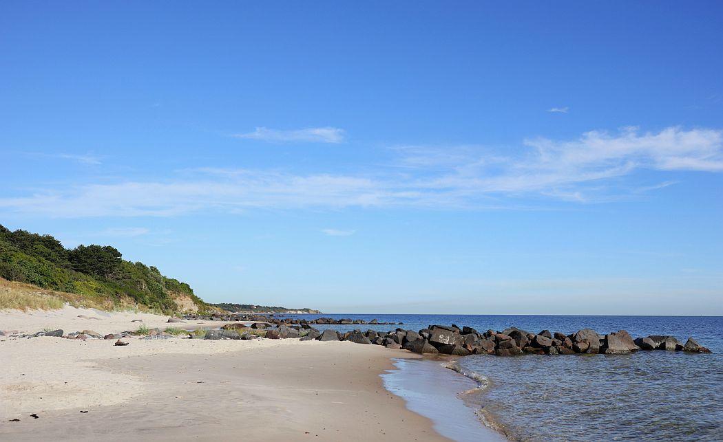 Plaża przy Ronne