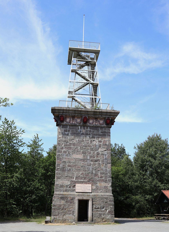 Bornholm - wieża widokowa