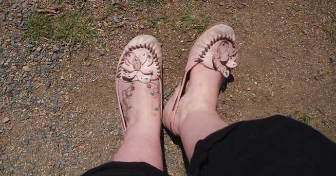 Złe buty w góry