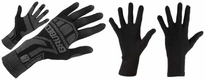 Cienkie rękawiczki termoaktywne