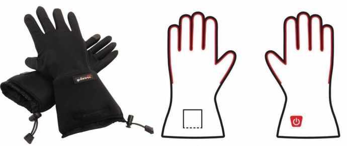 Grzejące rękawice