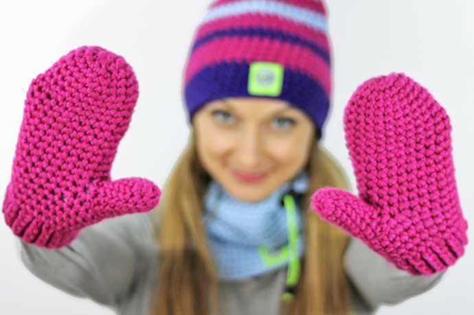 Dwupalczaste rękawiczki