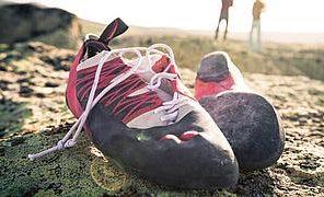 Jak prać buty wspinaczkowe