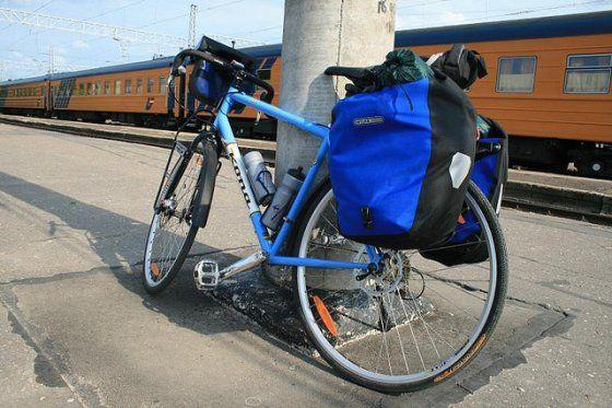 Pakowanie na rowerze
