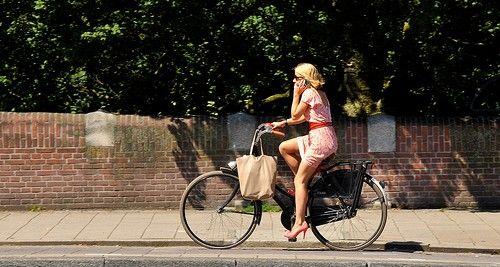 Rower miejski jak jeździć