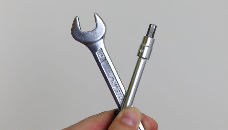 Narzędzia do odkręcania pedałów