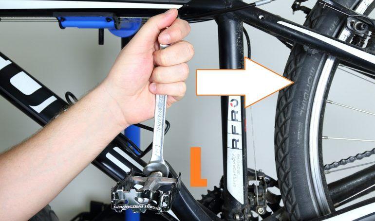 Odkręcanie pedałów rowerowych