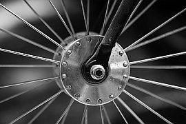 Wymiana koła w rowerze