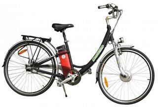 Rower z napędem elektrycznym
