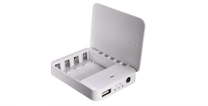 Ładowarka na paluszki AA USB