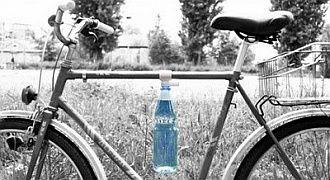 Alternatywne mocowanie bidonu do roweru