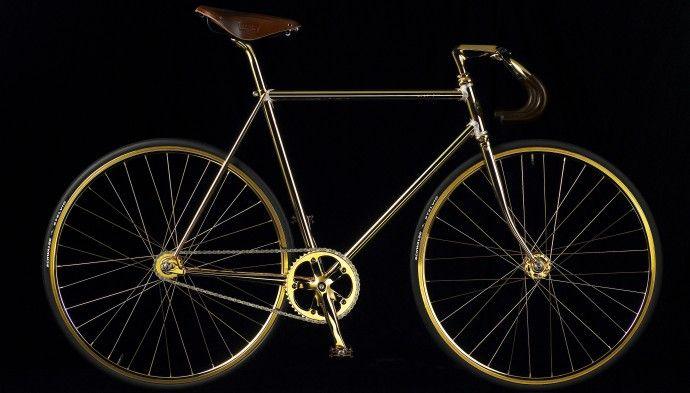 Rower Aurumania Złoty