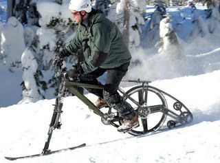 Snow Bicycle