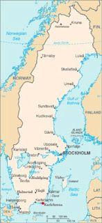 Rowerem przez Szwecję