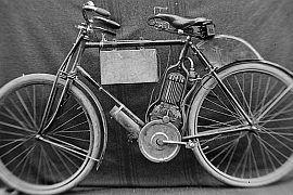 Silnik benzynowy w rowerze