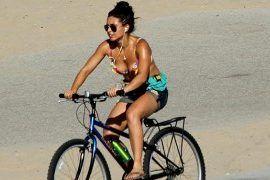 Wysoka temperatura na rowerze