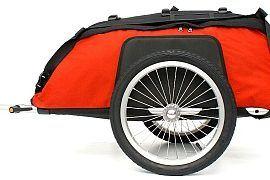 Bagażowa przyczepka do roweru