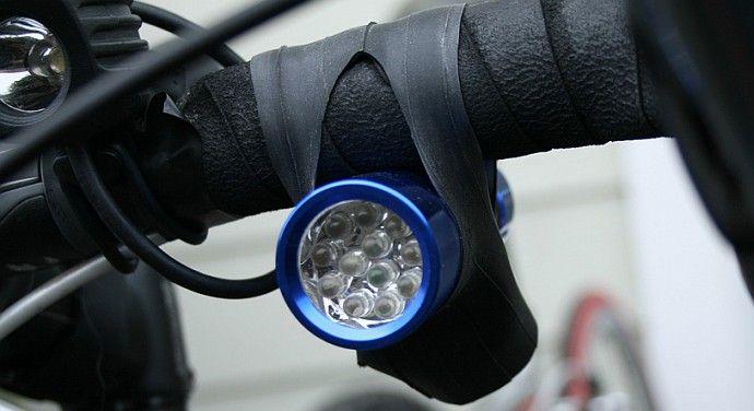 Oświetlenie roweru w dzień