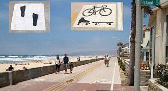 Rolkarze drogi rowerowe