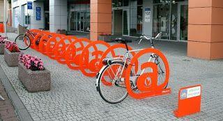 Poznańskie stojaki rowerowe
