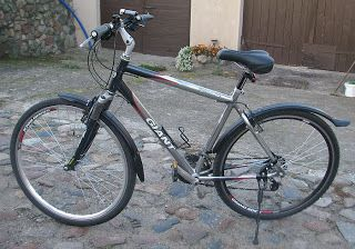 Test błotników rowerowych