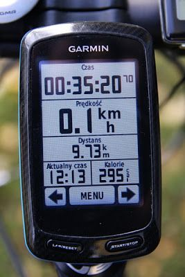 Garmin Edge GPS 800 Test