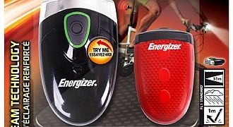 Energizer lampki rowerowe