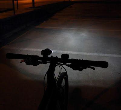 Test lampek rowerowych